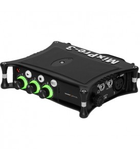 Sound-Devices MixPre-3 II - 3 XLR input 5-track audio recorder
