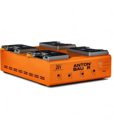 Anton-Bauer 8475-0139 - 26V LPD Quad Gold Mount Plus Discharger