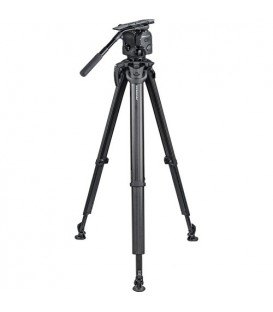 OConnor C1040-FT100 - 1040 Fluid Head & Flowtech 100 Tripod with Feet, Handle  & Case