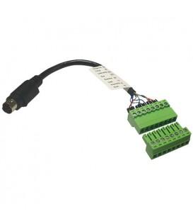 BirdDog BD-CC8MDP - BirdDog 8 Pin Mini Din TO Phoenix Control Cable Adapter