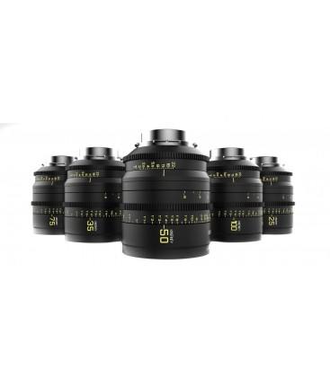 Kinefinity KF-MVP-6-PL - MAVO Prime T2.0 5 Lens Set (25, 35, 50, 75, 100) - PL mount