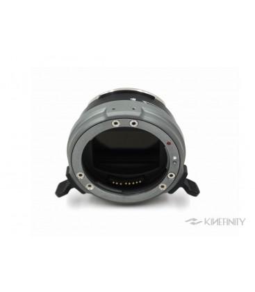Kinefinity KF-APT-4 - EF Mounting Adapter w/ e-ND