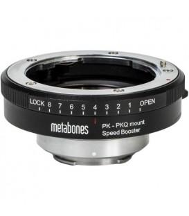 Metabones MB_SPPK-Q-BM1 - Metabones Pentax K  to Qmount Speed Booster Devil Q666 0.50x (Black Matt)