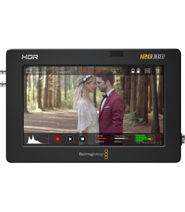 Blackmagic BM-HYPERD/AVIDA12/5HDR - Video Assist 5inch 12G