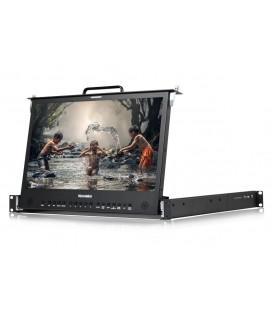 Konvision KFM-1753W - Pull-out 1RU Rackmount LCD monitor