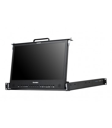 Konvision KFM-1753W - Pull-out 1RU Rackmount LCD monitor