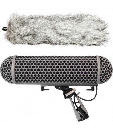 Rode BLIMP - Windshield and Rycote Shock Mount Suspension System for Shotgun Microphones