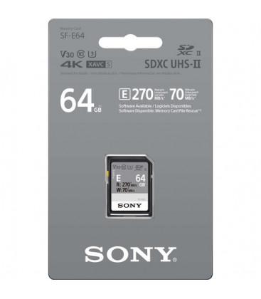 Sony SFE64.AE - SF-E SDHC 64GB UHS-II 270MBs