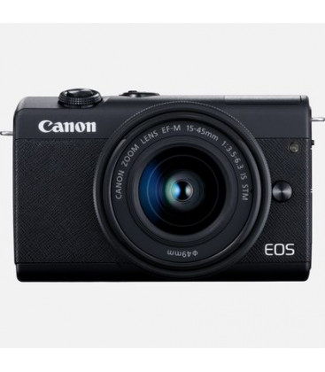 Canon 3699C010 - EOS M200 + 15-45mm Black