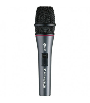 Sennheiser E865-S - Super-Cardioid Handheld Condenser Microphone with On/Off Switch