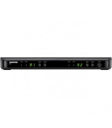 Shure BLX188E/MX53-T11 - BLX188 Dual Headset System W/MX153 863-865 MHz