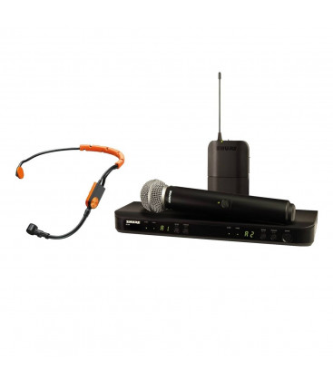 Shure BLX1288E/SM31-K14 - BLX1288 Combo W/SM31 AND SM58 614-638 MHz