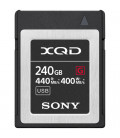Sony QDG240F - 240 GB XQD G Series memory card for professional shooting