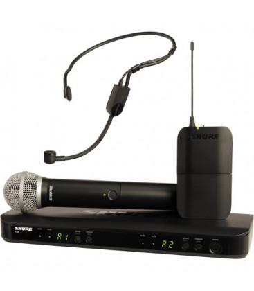 Shure BLX1288E/P31-M17 - BLX1288 Combo W/PGA31 AND PG58 662-686 MHz