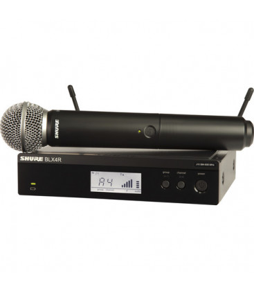 Shure BLX24RE/SM58-S8 - BLX24R Vocal System with SM58 823-832 MHz