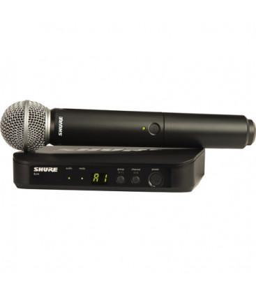 Shure BLX24E/SM58-M17 - BLX24 Vocal System with SM58 662-686 MHz