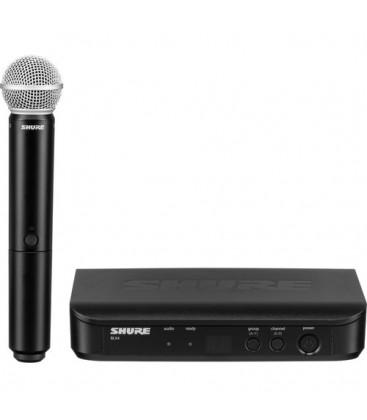 Shure BLX24E/PG58-M17 - BLX24 Vocal System with PG58 662-686 MHz