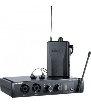 Shure EP2TR112GR-K9E - P2TR112GR Wireless System w/earphone, 606 - 638 MHz