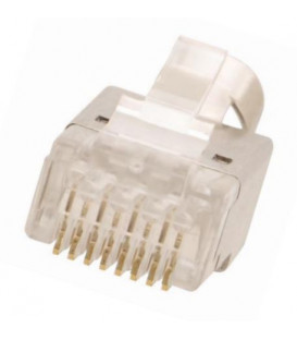 Kramer CON-RJ45-2 - Crimp-style shielded RJ45 connector twisted pair cable - 10-pack
