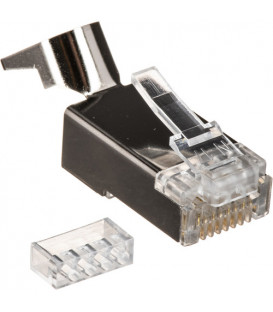 Kramer CON-RJ45-3 - Crimp-style shielded RJ45 connector twisted pair cable - 10-pack