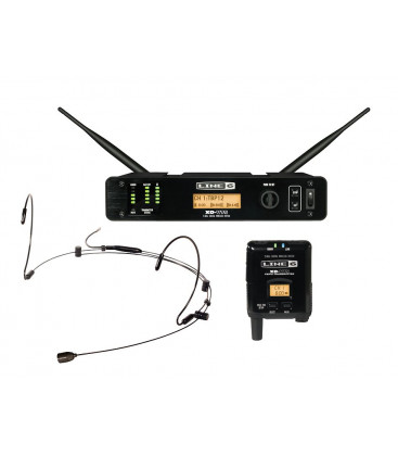 Yamaha XD-V75 HS - Line 6 Wireless Headset Microphone System, With Black Headset